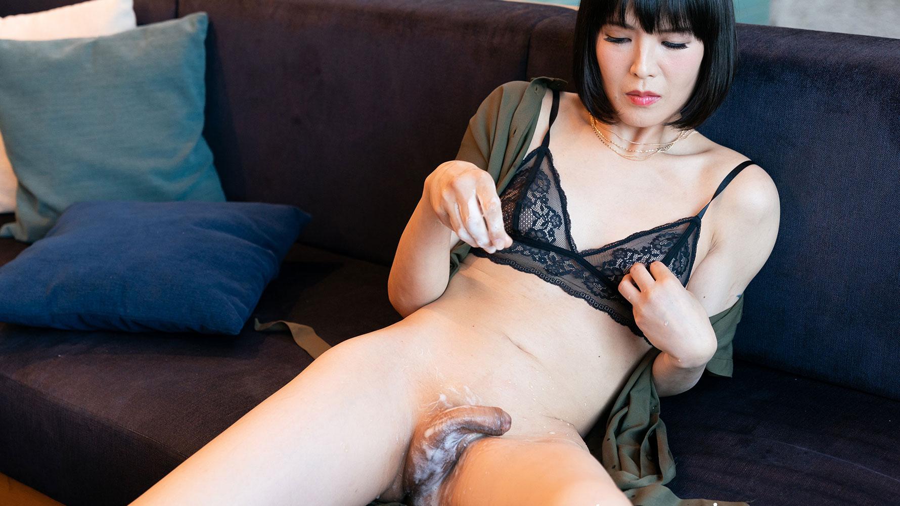 [2019-11-01] Yoko Cock Bukkake Sperm Masturbation - TranSexJapan